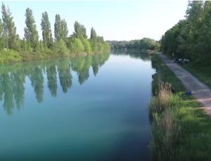 pescare nel fiume Mincio