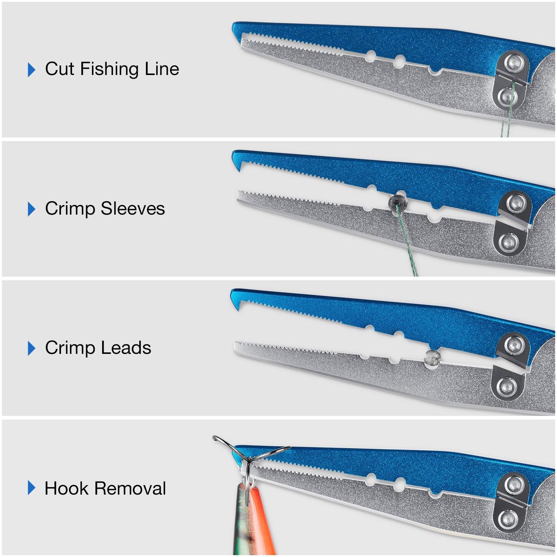 Piscifun alluminio pinze da pesca Hook Remover