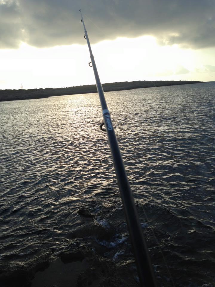 La canna usata per la pesca a Lampedusa