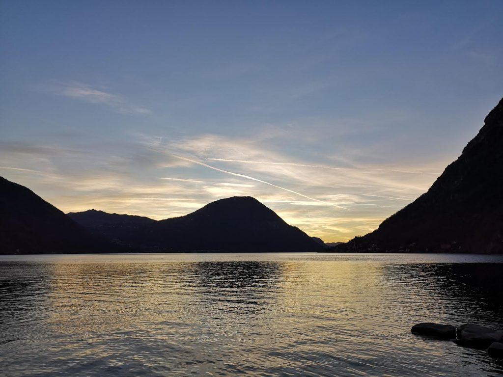 pesce lucioperca sul lago Ceresio